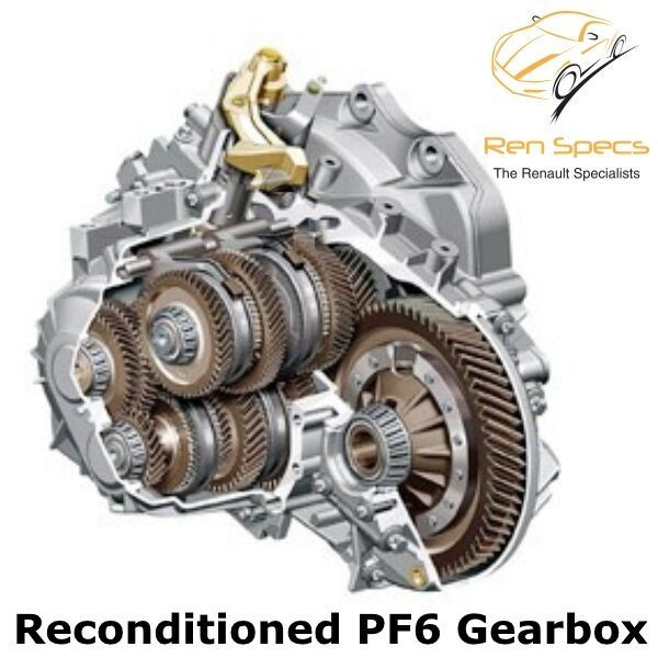 Renault / Vauxhall / Nissan - Reconditioned Gearbox - PF6 6 Speed