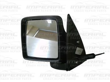 Vauxhall Combo 2002 - 2011 Door Mirror Manual Type With Black Cover Near Side