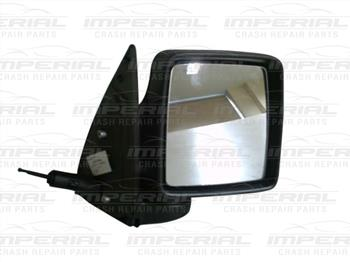 Vauxhall Combo 2002 - 2011 Door Mirror Manual Type With Black Cover Off Side