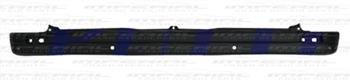 Vauxhall Vivaro 2014 Rear Bumper With Sensor Holes - Black