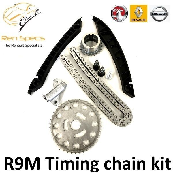 Vauxhall Vivaro II TIMING CHAIN KIT 1.6 DCI with tensioner & guides R9M Genuine